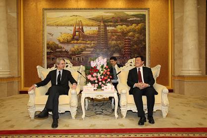 rencontre avec m. yao xiaodong, maire de changzhou