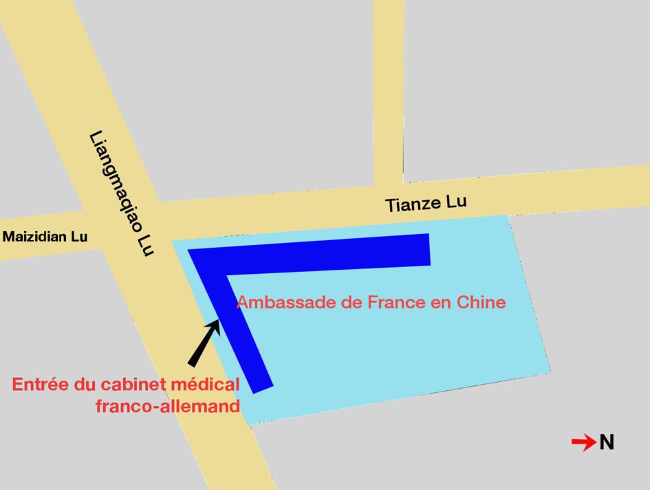 Le cabinet m dical franco allemand la france en chine - Cabinet de recrutement franco allemand ...
