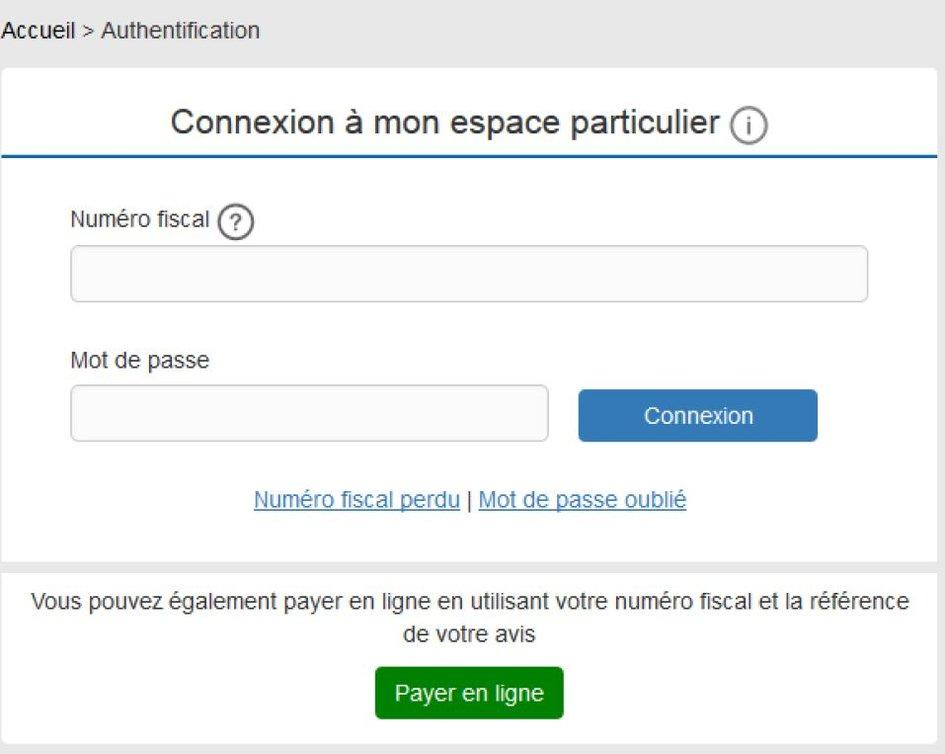 Mise A Disposition Des Avis D Impots Locaux Taxe Fonciere Et Taxe